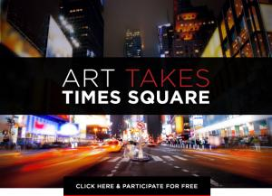 Help Me Have My Art Shown In NY Times Square